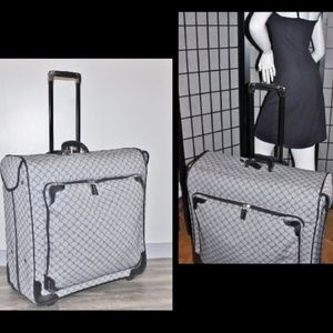 Jacquard Signature Rolling Garment Bag Luggage